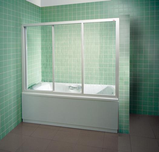 Ванна с экраном для душа